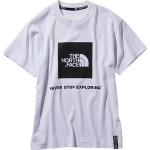 ノースフェイス(THE NORTH FACE) メンズ レディース アウトドアウェア レイジショートスリーブボックスロゴティー RAGE S/S Box Logo Tee ホワイト NT31964 W