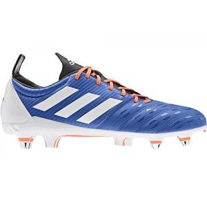 アディダス(adidas) メンズ ラグビーシューズ マライスSG ブルー/ランニングホワイト/ソーラーオレンジ DBG06 F35815 スパイク 靴 部活 新入部|esports
