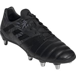 アディダス(adidas) メンズ ラグビーシューズ カカリSG コアブラック/コアブラック/コアブラック EFW30 F36350 スパイク フォワードプレーヤー 靴 部活 新入部|esports