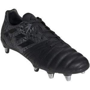 アディダス(adidas) メンズ ラグビー スパイク カカリエリート SG コアブラック/コアブラック/コアブラック 149 BTF40 F36351 スポーツシューズ 部活 靴|esports