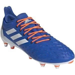 アディダス(adidas) メンズ ラグビー スパイク プレデター XP SG ブルー/ホワイト/ソーラーオレンジ 142 DBF90 F35768 スポーツシューズ 部活 靴|esports