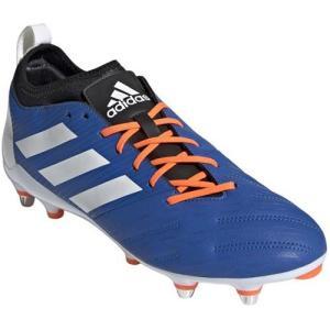 アディダス(adidas) メンズ ラグビー スパイク マライス エリート SG ブルー/ホワイト/ソーラーオレンジ 146 DBG04 F35813 スポーツシューズ 部活 靴|esports