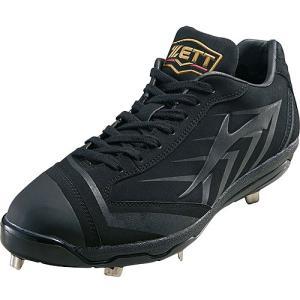 ゼット(ZETT) メンズ 野球 金具 スパイク プロステイタス ブラック/ブラック BSR2997...