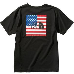 ノースフェイス(THE NORTH FACE) メンズ ショートスリーブ ナショナルフラッグティー S/S NATIONAL FLG T ブラック NT32053 K 半袖 Tシャツ トップス|eSPORTS PayPayモール店