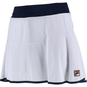 フィラ(FILA) レディース テニス スコート ホワイト VL2122 01 スカート ボトムス ...