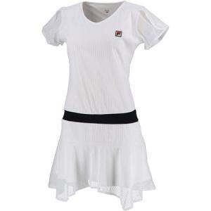 フィラ(FILA) レディース テニスウェア ワンピース ホワイト VL2129 01 スカート ゲ...