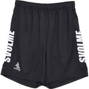 スボルメ (SVOLME) メンズ レディース サッカー フットサル ロゴトレーニングショーツ ブラック 1211-83502 010 短パン ハーフパンツ プラクティスパンツの商品画像 ナビ