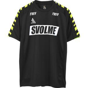 スボルメ(SVOLME) メンズ レディース フットサル サッカー LINE TRトップ ブラック ...