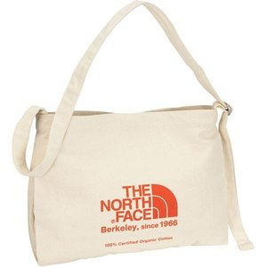 ノースフェイス(THE NORTH FACE) MUSETTE BAG ミュゼットバッグ TR/ナチュラル×TNFレッド NM81765 バッグ Skal認定 通学 ショルダーバック エコバック|esports