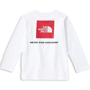 背面に大きなロゴプリントを配した長袖Tシャツ。しなやかで吸汗速乾性に優れたポリエステルと、肌触りのよ...