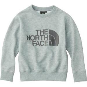 ノースフェイス(THE NORTH FACE) キッズ パーカー スウェットロゴクルー SWEAT LOGO CREW Z/ミックス グレー NTJ11721 子供 男児 女児 アウトドア 防寒|esports