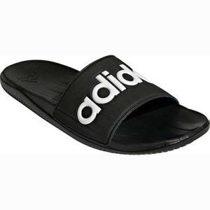 アディダス(adidas) カロズーンLG M CAROZOON LG M コアブラック/ホワイト/ソーラーブルー AU646 F32915 スポーツサンダル シャワーサンダル クールダウン 靴