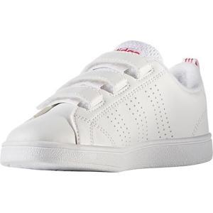 アディダス(adidas) ネオ(NEO) バルクリーン VALCLEAN2 CMF K ランニングホワイト/ランニングホワイト/スーパーピンク CFW07 BB9978 アディダスネオ...