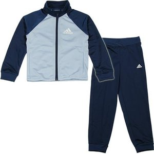 アディダス(adidas) Girls ジャージ上下セット (ジョガーパンツ) イージーブルー/ミステリーブルー AAW16 BP8834 ガールズウェア キッズウェア|esports