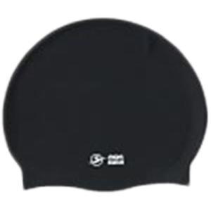 エーキューエー(AQA) シリコンスイムキャップ KP1939 0100 ブラック F スイムキャップ 水泳帽|esports