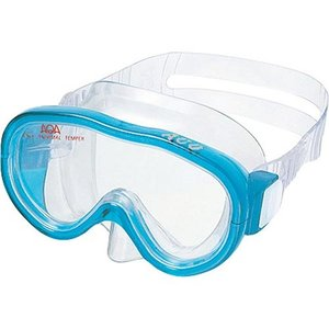 エーキューエー(AQA) アコライト 子供用マスク 4歳-9歳 KM1084H クリスタルサックス スイムゴーグル 水泳用ゴーグル スノーケリング|esports