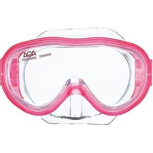 エーキューエー(AQA) アコライト 子供用マスク 4歳-9歳 KM1084H クリスタルピンク スイムゴーグル 水泳用ゴーグル スノーケリング|esports