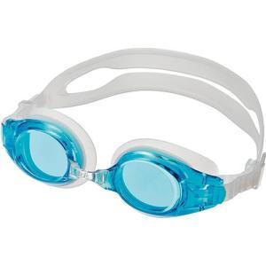エーキューエー(AQA) ウォーターランナーキッズ3 子供用ゴーグル KM1620 アクアブルー スイムゴーグル 水泳用ゴーグル プール スイミング|esports