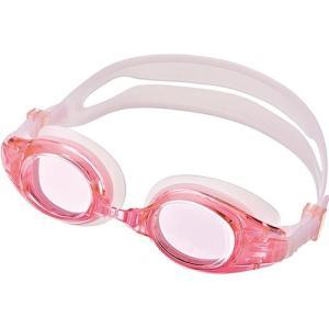 エーキューエー(AQA) ウォーターランナーキッズ3 子供用ゴーグル KM1620 ピンク スイムゴーグル 水泳用ゴーグル プール スイミング|esports