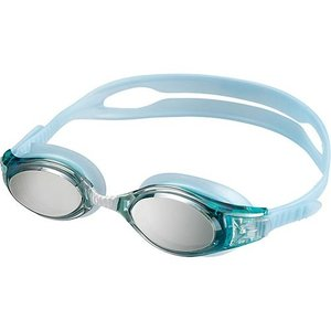 エーキューエー(AQA) ウォーターランナースマートクリックミラー3 ゴーグル KM1624 シルバーミラー スイムゴーグル 水泳用ゴーグル|esports