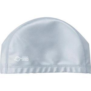 エーキューエー(AQA) シリテックススイムキャップ KP1938 0800 シルバー フリーサイズ 水泳帽|esports