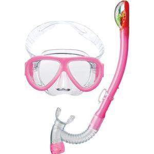 エーキューエー(AQA) アネモライト&ビキシードライスペシャル 2点セット KZ9078N キャンディPK スイムゴーグル 水泳用ゴーグル スノーケリング|esports