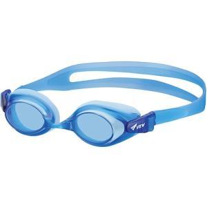 d5a81a3d9f5 タバタ(Tabata) ジュニア スイミングゴーグル 小学生全学年用 ブルー V740J BL スイムゴーグル 水泳用ゴーグル 子供用