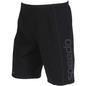 スピード(speedo) メンズ ルーズスパッツ ブラック×チャコール SD82L15 KH メンズフィットネス水着 男性用|esports
