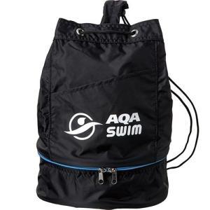 エーキューエー(AQA) ジュニアプールバッグ KP1924 ブラック スイムバッグ スイムアクセサリー 水泳・スイミング|esports