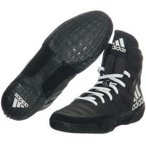 アディダス(adidas) レスリングシューズ ヴァーナー varner コアブラック/ホワイト/ユ...