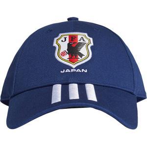 アディダス(adidas) サッカー キャップ JFA 3S CAP 3ストライプ ナイトブルー/ホワイト OSFX DUS11 CF5164 日本代表 2018 帽子 サポーターグッズ|esports