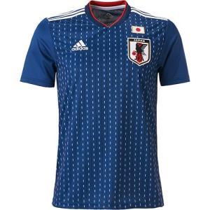 アディダス(adidas) 日本代表 2018 ホーム レプリカユニフォーム 半袖シャツ Nブルー/WT DRN93 CV5638 サッカー Tシャツ メンズ・レディース 観戦|esports