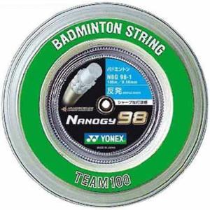 ヨネックス(YONEX) ナノジー98 チーム100 NBG981 528 コスミックゴールド ガット ストリング ロール バドミントン|esports