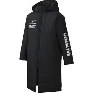 ミズノ(MIZUNO) ジュニア 中綿コート ロングコート ブラック 32JE9951 09 ベンチ...