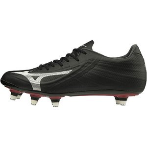 ミズノ(MIZUNO) ラグビーシューズ レビュラ 3 RG PRO SI ブラック×シルバー R1GA1955 03 ラグビー スパイク シューズ 靴|esports
