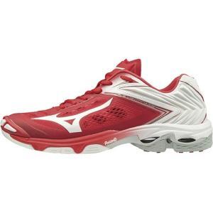 ミズノ(Mizuno) メンズ レディース バレーボールシューズ ウエーブライトニング Z5 RED×WHT×SLV V1GA1900 01 バレーボール シューズ バレーシューズ 部活 靴|esports