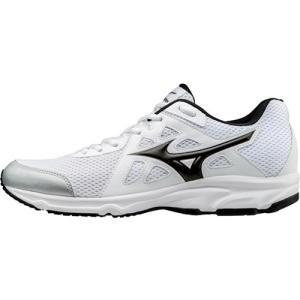 ミズノ(MIZUNO) マキシマイザー 19 ホワイト×ブラック K1GA170010 ランニングシューズ スニーカー メンズ 靴 esports