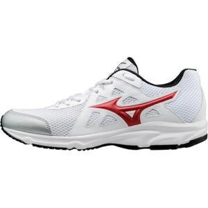 ミズノ(MIZUNO) マキシマイザー 19 ホワイト×レッド K1GA170062 ランニングシューズ スニーカー メンズ 靴 esports
