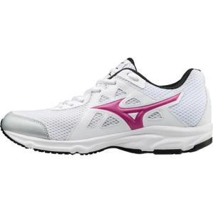 ミズノ(MIZUNO) マキシマイザー 19(W) ホワイト×ピンク K1GA170159 ランニングシューズ スニーカー レディース 靴 esports