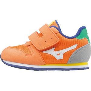 ミズノ(MIZUNO) タイニーランナー 4 オレンジいろ K1GD163253 ベビー キッズシューズ スニーカー 子供靴 運動靴 男の子 女の子 esports