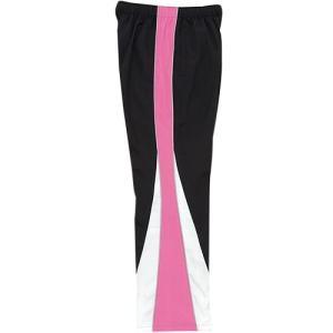 ミズノ(MIZUNO) トレーニングクロスパンツ 85FQ11097 ブラック×R.ピンク メンズ トレーニングウェア 練習用|esports