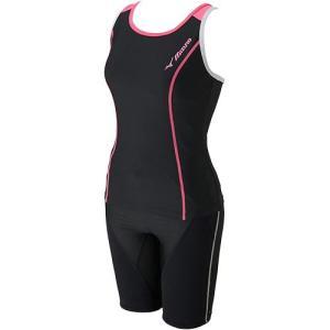 ミズノ(MIZUNO) BGスイム セパレーツ ブラック×ローズ N2JG782196 レディースフィットネス水着 女性用 esports