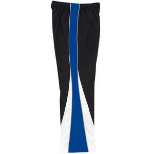 ミズノ(MIZUNO) トレーニングクロスパンツ ブラック×ブルー N2JD702092 メンズ トレーニングウェア 練習用|esports