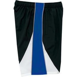 ミズノ(MIZUNO) トレーニングクロスハーフパンツ ブラック×ブルー N2JD702192 メンズ トレーニングウェア 練習用|esports
