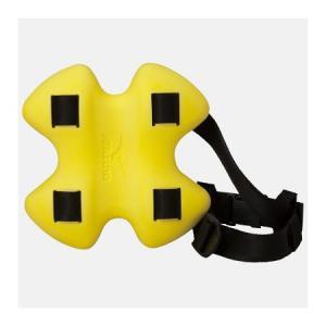 ミズノ(MIZUNO)エクサーフラットブイ イエロー 85ZB05045 スイムアクセサリー/水泳用トレーニング用品/へルパー