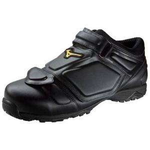 ミズノ(MIZUNO) ミズノプロアンパイア 2KU82000 ブラック×ブラック 野球 審判用 審判靴 シューズ メンズ|esports