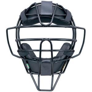ミズノ(MIZUNO) 軟式マスク スロート 17 09/ブラック 1DJQR11009 野球 軟式用 審判用マスク 防具の画像