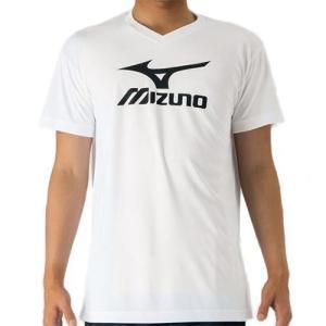 ミズノ(MIZUNO) プラクティスシャツ ホワイト×ブラック V2MA708770 バレーボール トレーニングウェア プラシャツ|esports
