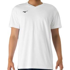 ミズノ(MIZUNO) プラクティスシャツ Jr. ホワイト V2MA708801 バレーボール トレーニングウェア ジュニア プラシャツ|esports