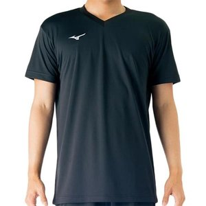 ミズノ(MIZUNO) プラクティスシャツ Jr. ブラック V2MA708809 バレーボール トレーニングウェア ジュニア プラシャツ|esports